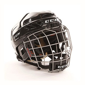 CCM FitLite 3DS Youth Ice Hockey Helmet Combo