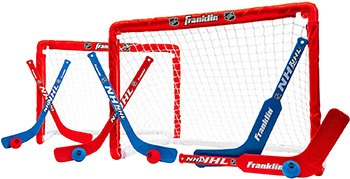 Franklin Sports Mini Hockey Goal Set Of Two
