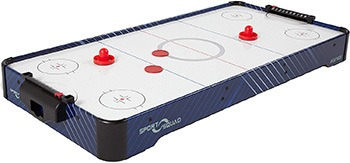 Sport Squad HX40 40-Inch Table Top Air Hockey Table For Kids And Adults